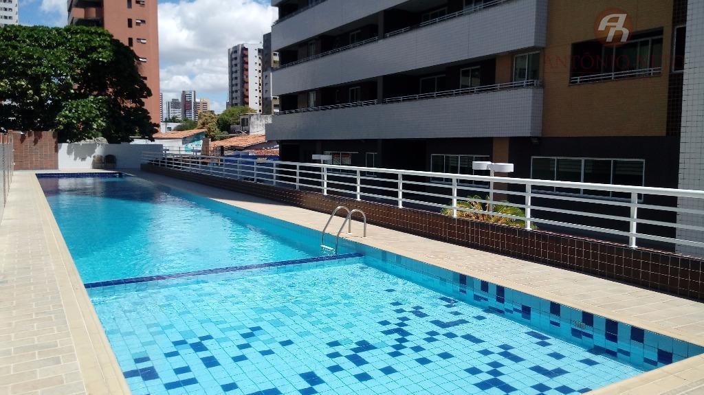 Apartamento residencial à venda, Aldeota 98,66m²Fortaleza.