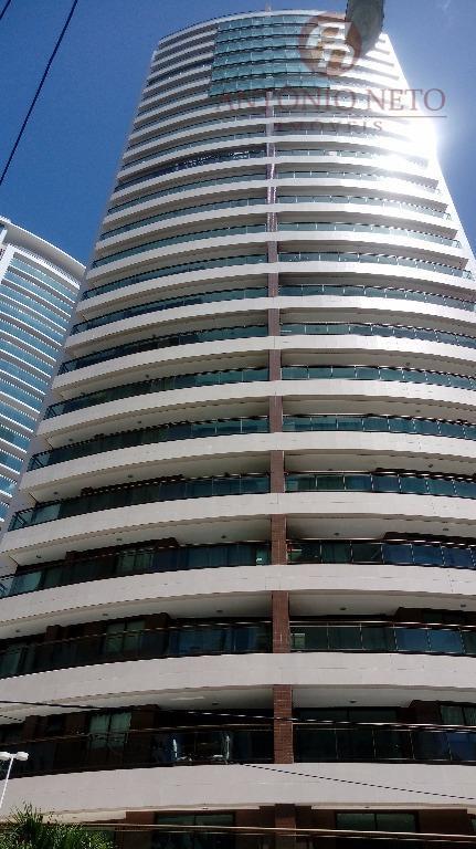 Apartamento residencial à venda, Meireles cobertura 247m²Fortaleza.