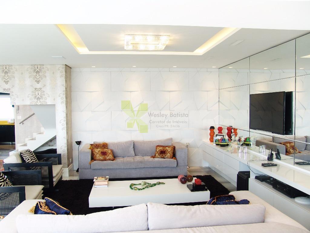 Cobertura Duplex com 308m² Privativos, 3 Suítes e 5 Vagas no Ecoville.