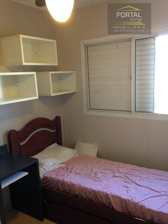 apartamento à venda no ipiranga, de 02 dormitórios, sala, cozinha, 01 banheiro social, área de serviço...