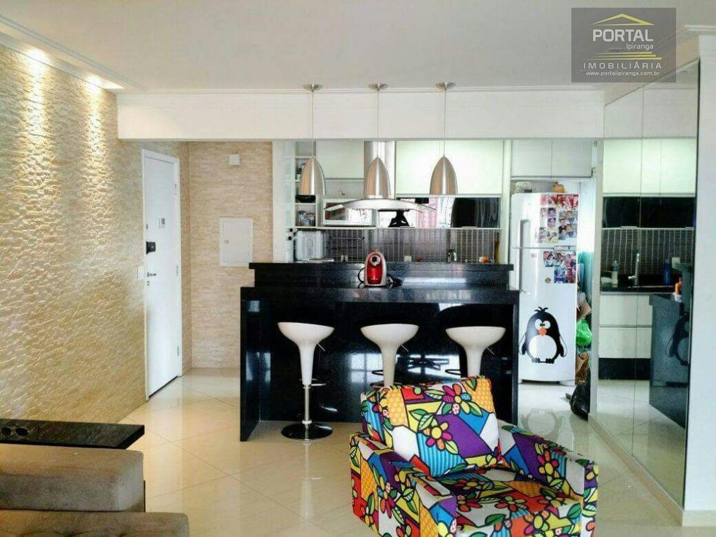 Apartamento à venda - 02 dorms (01 suíte) e 02 vagas - Ipiranga