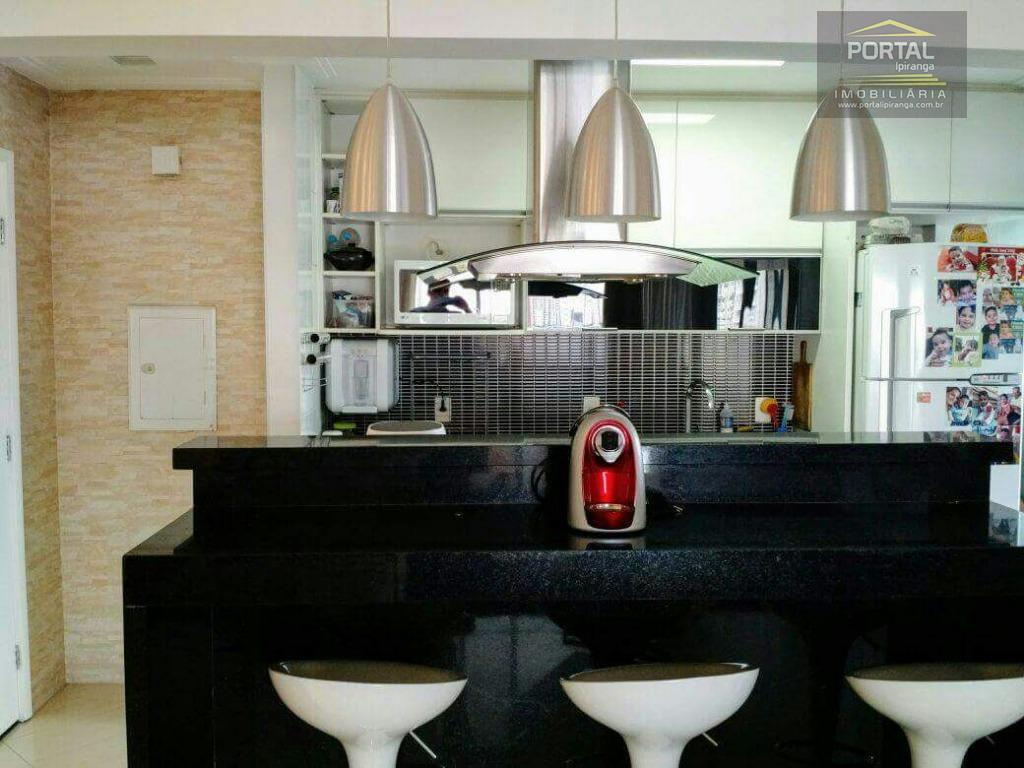 maravilhoso apartamento, com sala ampliada, 02 dormitórios (01 suíte), cozinha americana, 02 banheiros (01 social e...