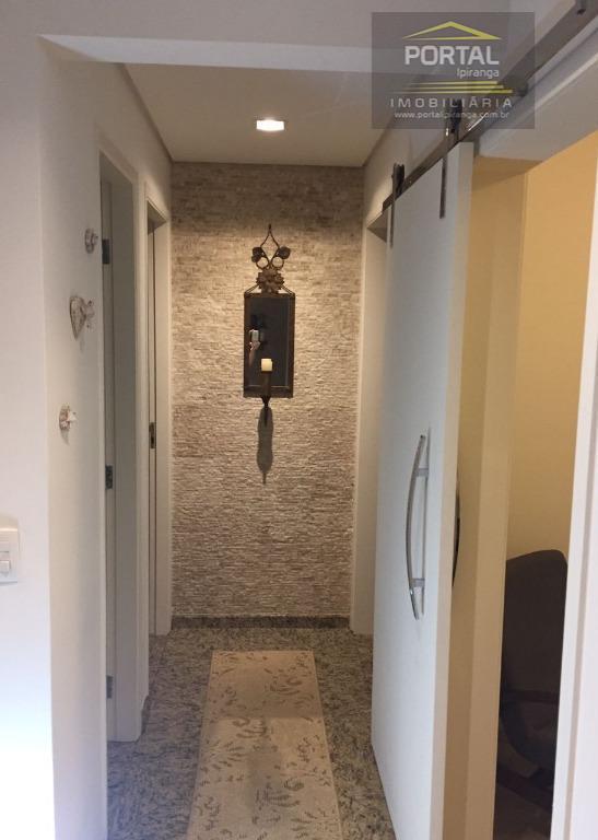 apartamento alto padrão à venda no ipiranga, 03 dormitórios (01 suíte) com armários, sala, cozinha planejada,...