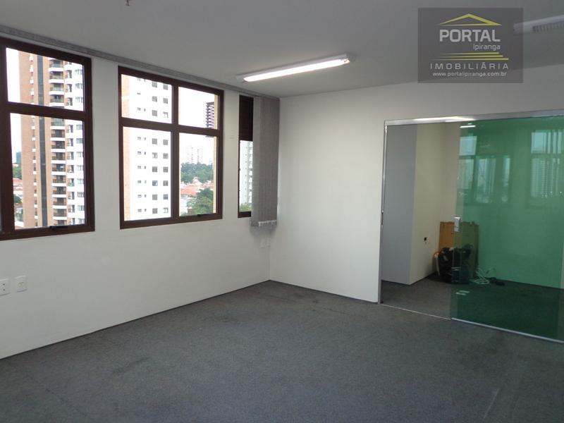 Sala comercial disponível para venda e locação - Chácara Sto. Antônio