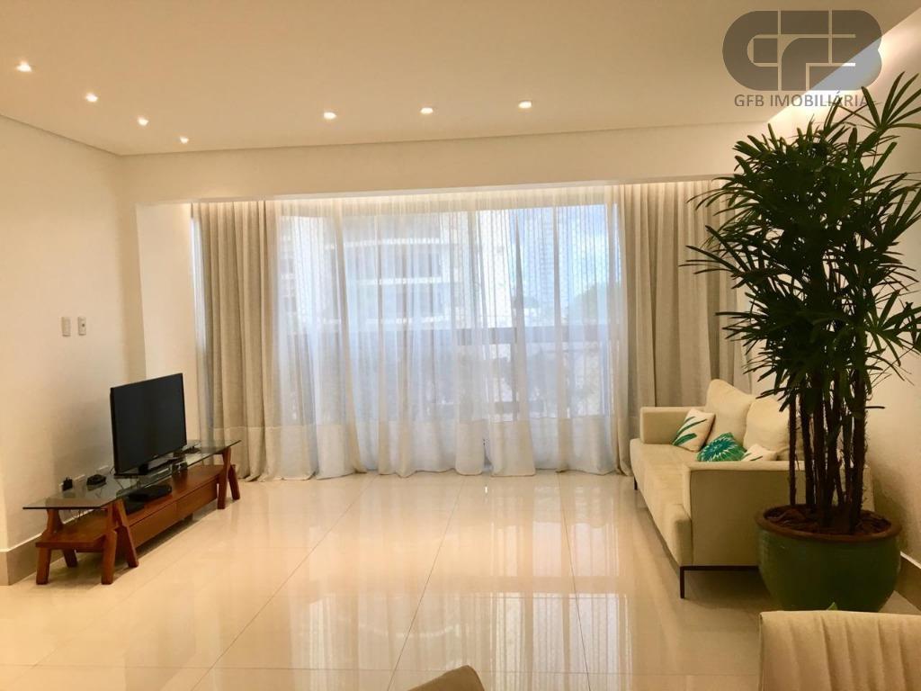 Apartamento com 3 dormitórios à venda, 124 m² por R$ 620.000 - Duque de Caxias I - Cuiabá/MT