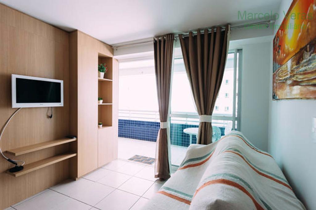 MOBILIADO - Luxuoso apartamento ao lado do Aterro