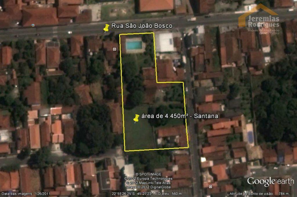 Terreno comercial à venda, Santana, Pindamonhangaba - TE1380.