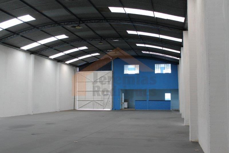 Galpão comercial para venda e locação, Residencial Estoril, Taubaté - GA0165.
