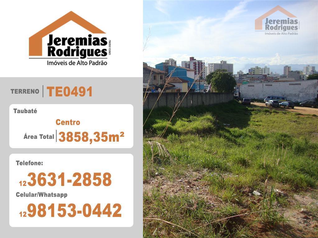 Terreno comercial à venda, Centro, Taubaté.