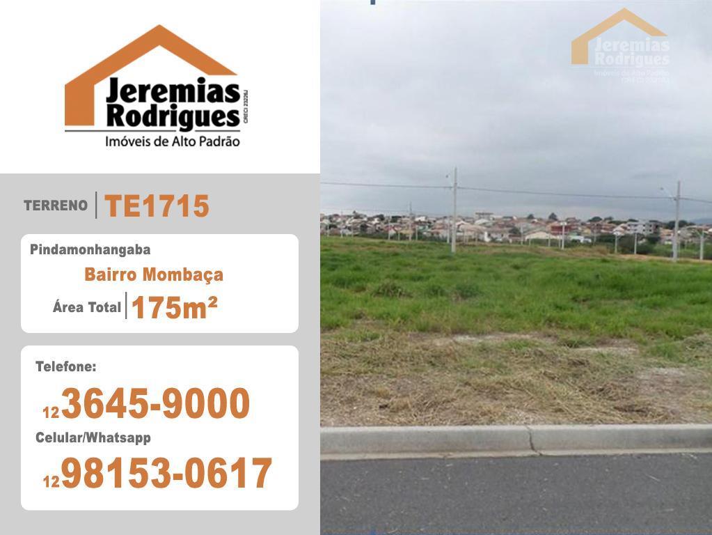 Terreno residencial à venda, Flamboyant, Pindamonhangaba - TE1715.