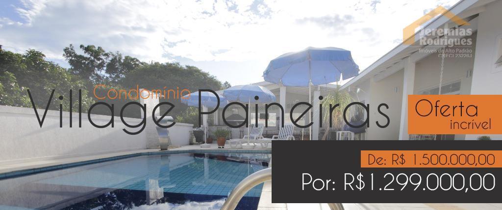 Casa residencial à venda no Condomínio Village Paineiras em Pindamonhangaba - CA3320.