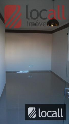 excelente apartamento de 74m². contêm - 02 dormitórios simples c/armários, piso porcelanato. 01 sala jantar com...