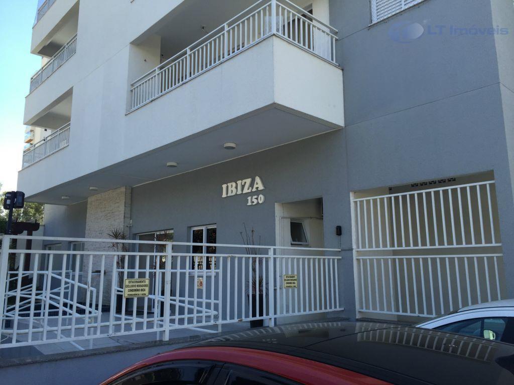 Apartamento residencial para locação, Parque Residencial Aquarius, São José dos Campos - AP0029.