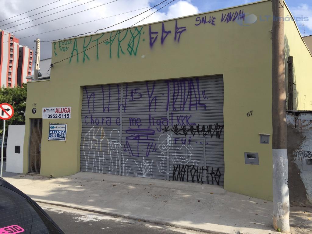 Ponto  comercial para locação, Jardim Pereira do Amparo, Jacareí.