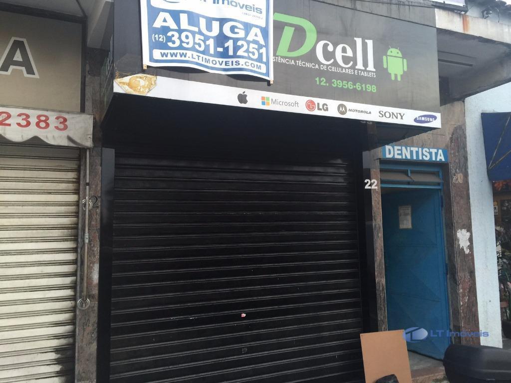 Ponto comercial para locação, Centro, Jacareí - PT0073.