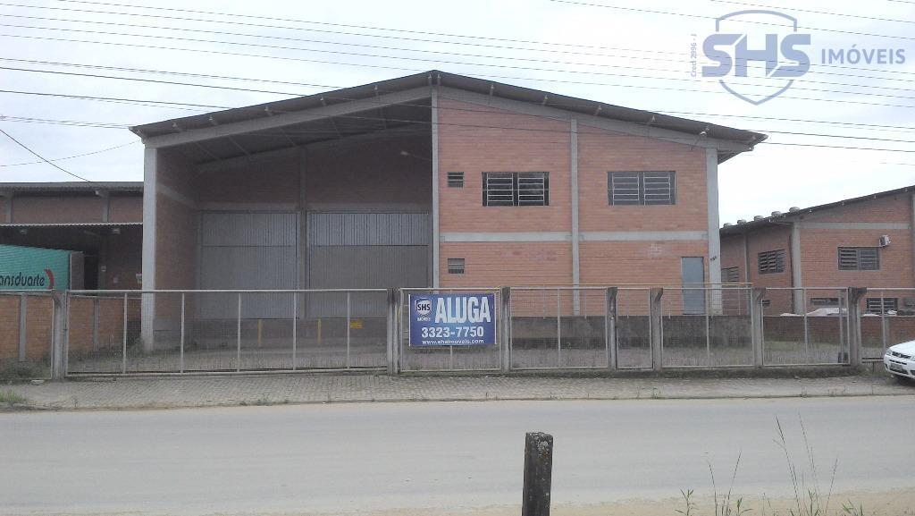 Galpão  comercial para locação, Itoupava Central, Blumenau.