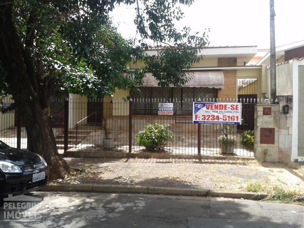 Casa residencial à venda, Jardim Novo Botafogo, Campinas.