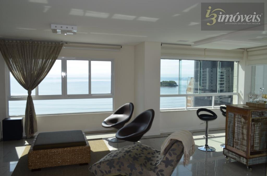 Apto Novo Mobiliado com 4 suítes com linda Vista da Praia de Balneário Camboriú