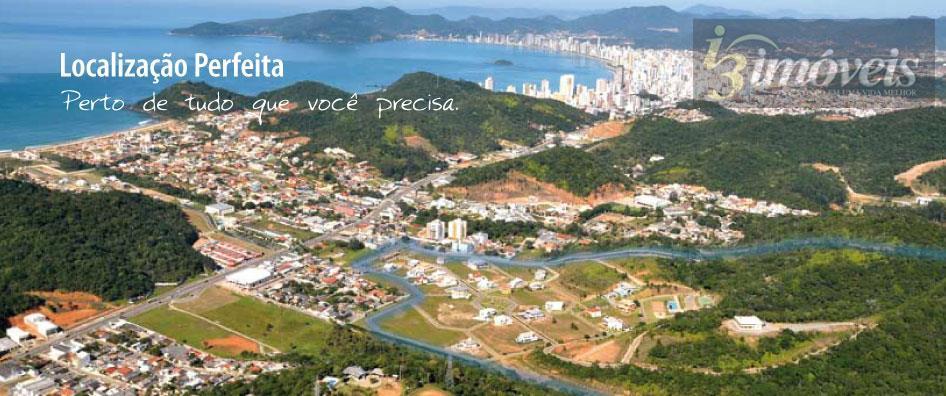 Terreno em condomínio fechado à venda, Praia Brava, Itajaí.