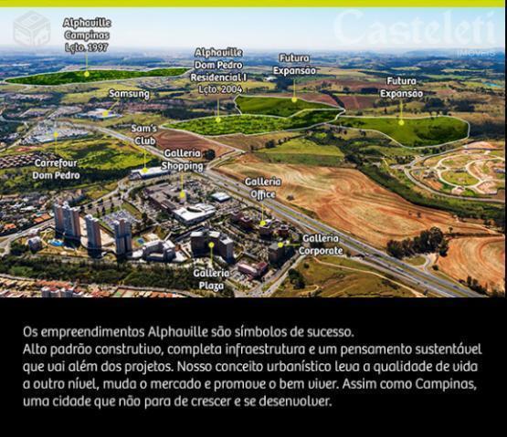Terreno à venda em Fazenda Santana (Sousas), Campinas - SP
