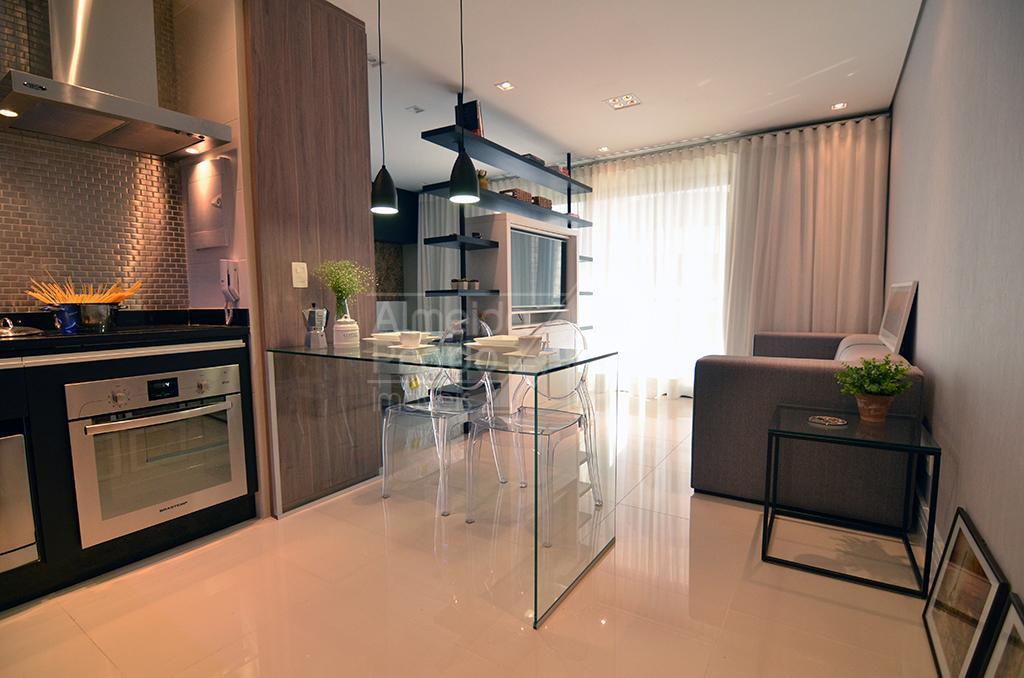 Apartamento com 1 dormitório para alugar, 40 m² por R$ 2.900,00/mês - Cambuí - Campinas/SP