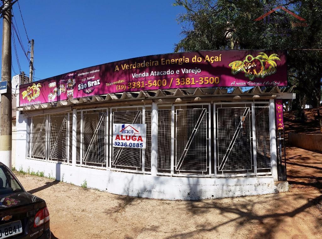 Casa comercial para locação, Jardim Proença, Campinas.