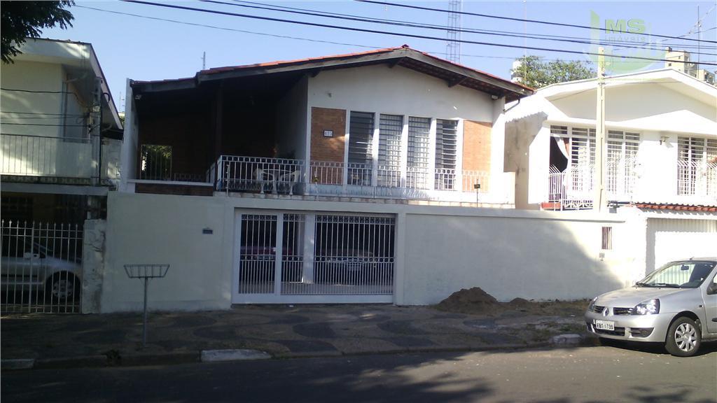 Casa residencial à venda, Jardim Proença, Campinas.