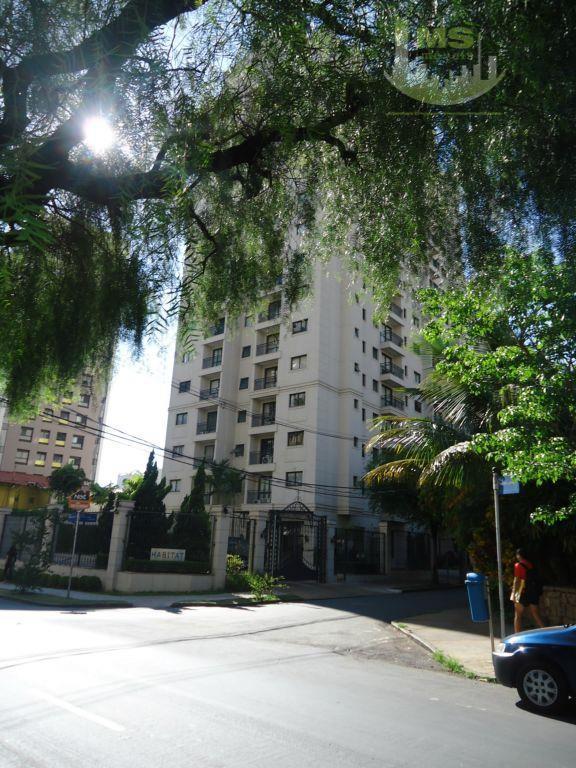 Apartamento residencial para locação, Cambuí, Campinas - AP0722.