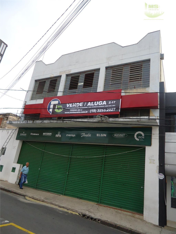Galpão comercial para venda e locação, Centro, Campinas - GA0003.