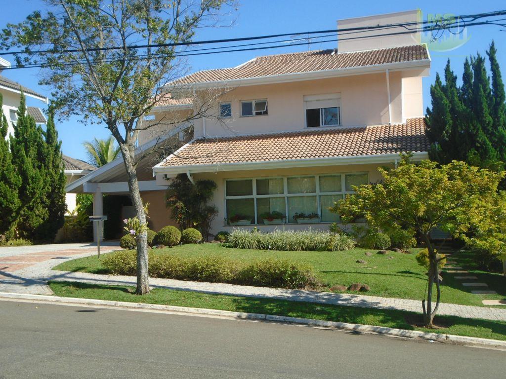 Casa residencial à venda, Alphaville Campinas, Campinas - CA0286.