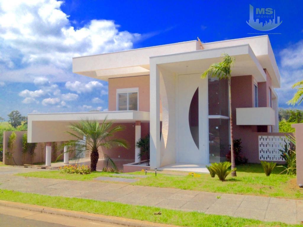 Casa residencial à venda, Alphaville Dom Pedro, Campinas - CA0330.