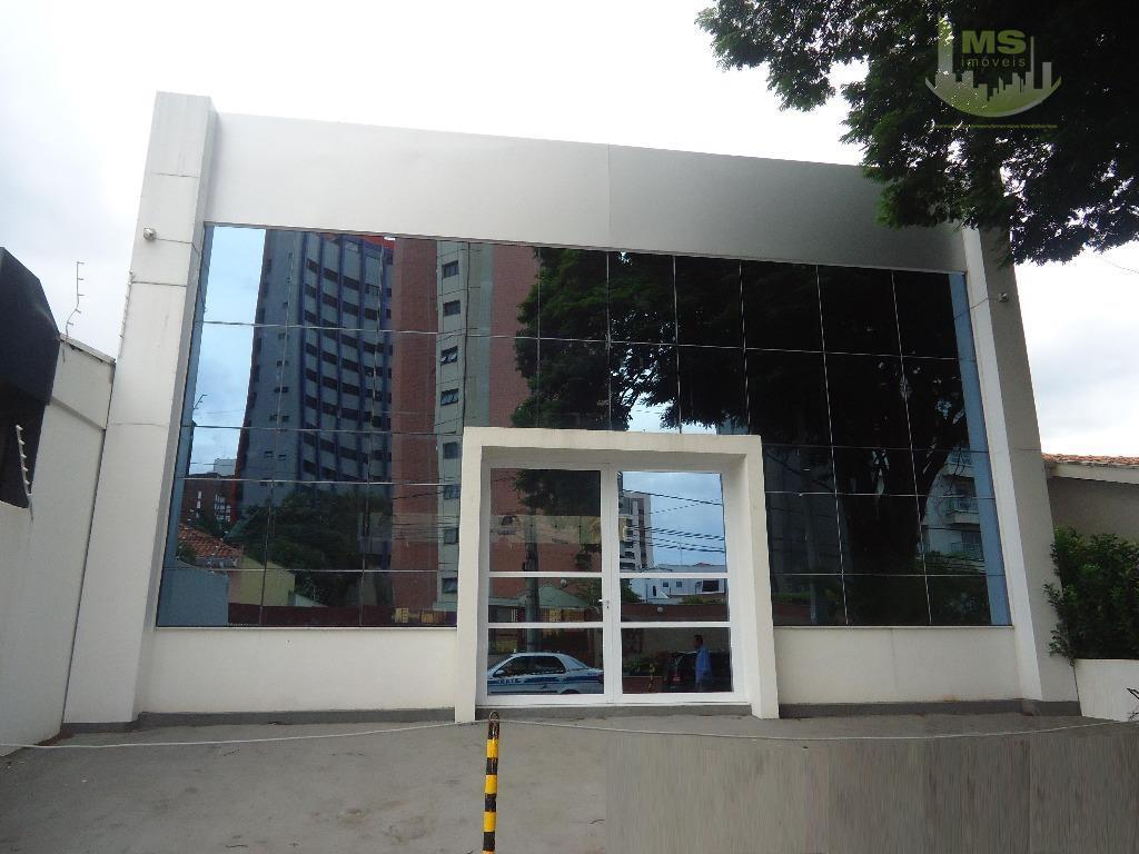 Salão comercial para locação, Cambuí, Campinas - SL0010.