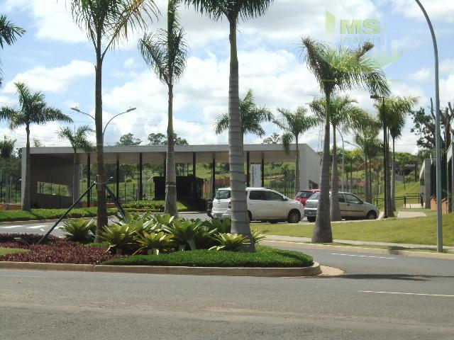 Terreno residencial à venda, Alphaville Dom Pedro, Campinas - TE0071.