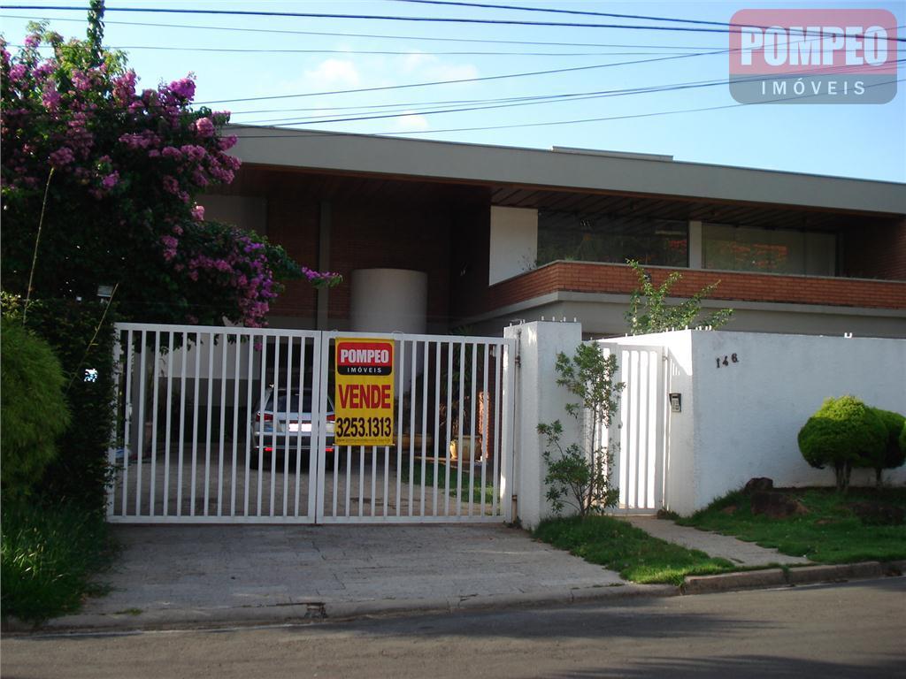 Casa Residencial para venda e locação, Condomínio Chácaras do Alto da Nova Campinas, Campinas - CA0364.