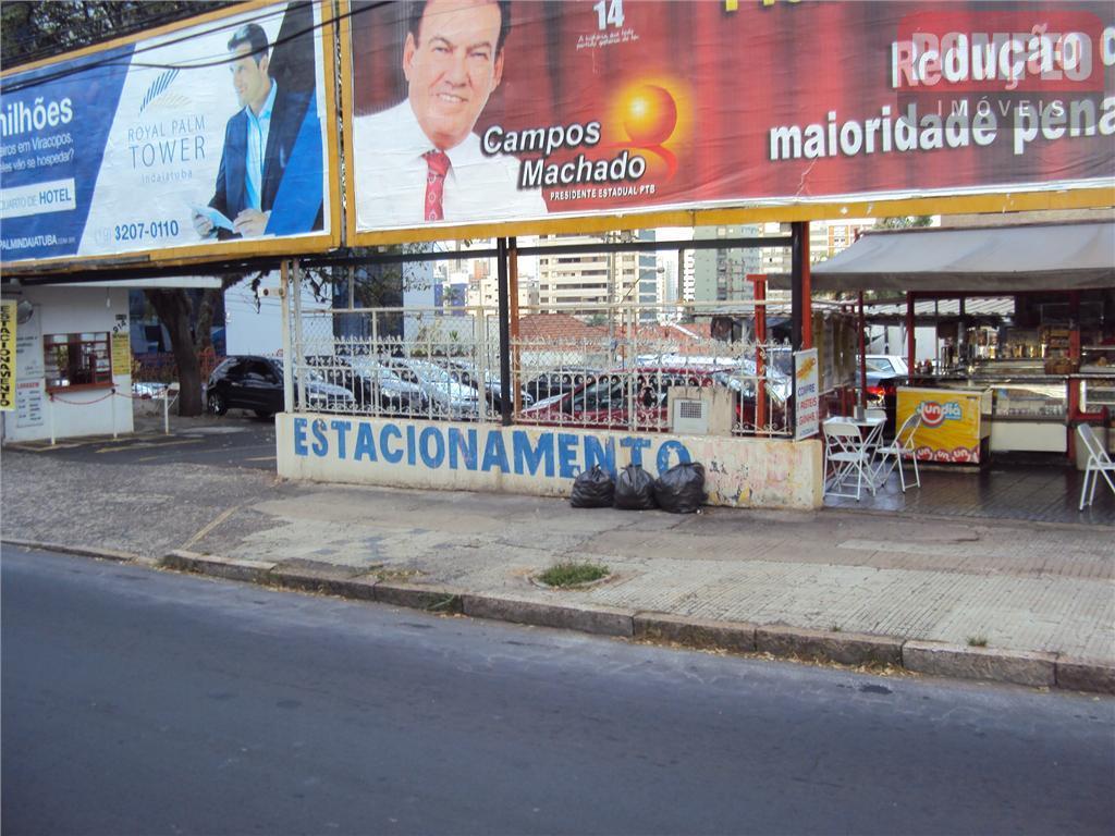 Terreno comercial à venda, Botafogo, Campinas.