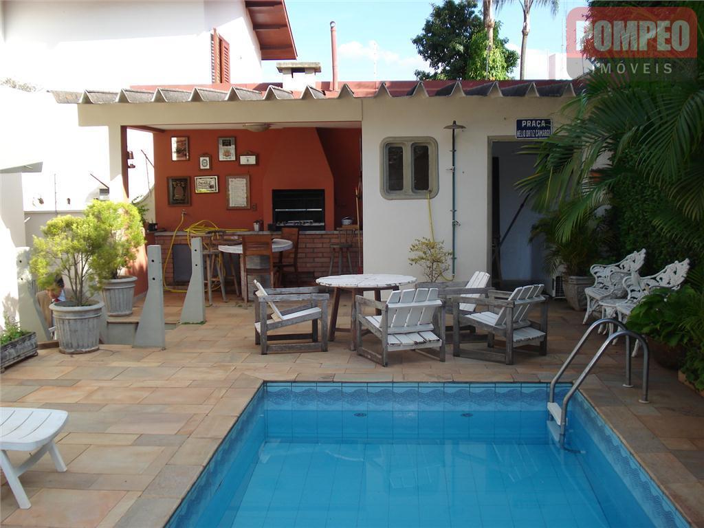 Casa residencial à venda, Vila Brandina, Campinas.