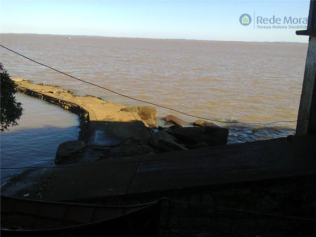 Terreno com praia particular; para clube, marina ou sede campestre à venda, Ponta Grossa, Porto Alegre.