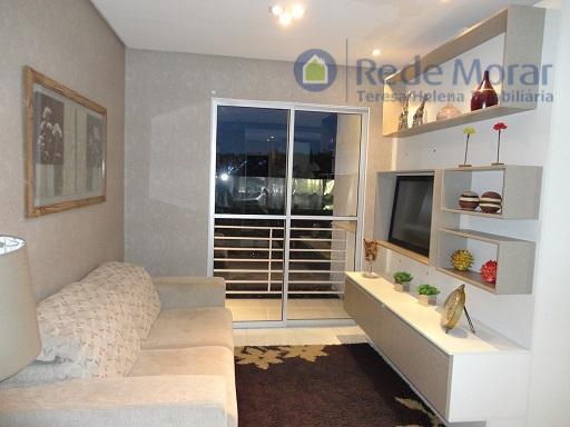 Apartamento residencial à venda, Vila Nova, Porto Alegre.