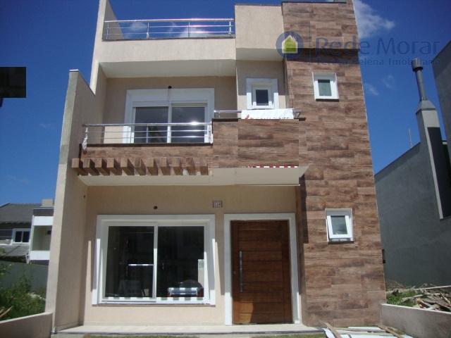 Sobrado 3 dormitórios; 2 suítes; à venda, Aberta dos Morros, Porto Alegre.