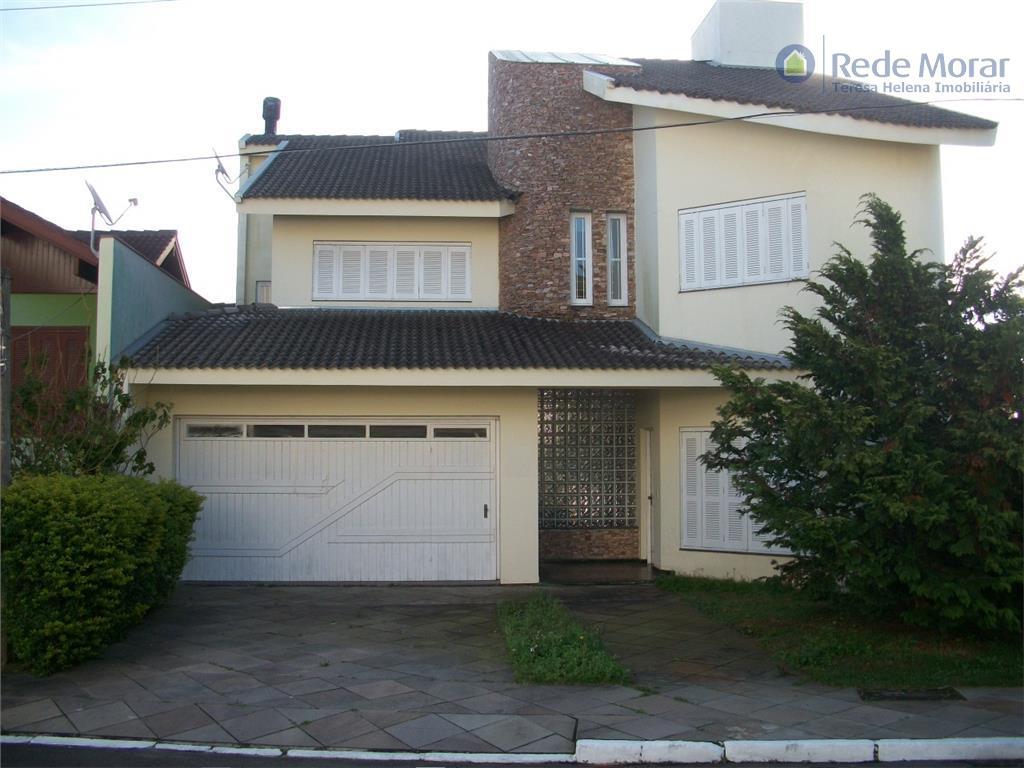 Sobrado residencial à venda, Nonoai, Porto Alegre.