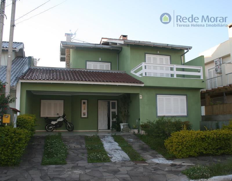 Sobrado residencial à venda, Hípica, Porto Alegre.