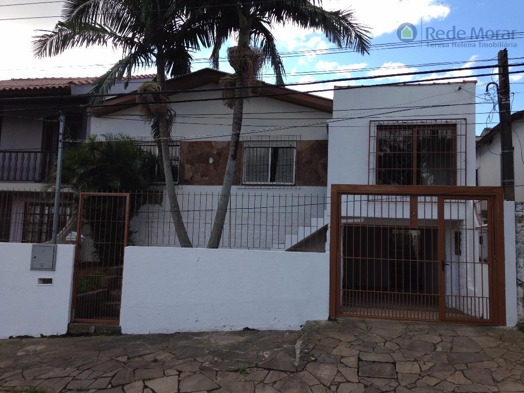 Casa três dormitórios à venda; Aberta dos Morros, Porto Alegre.