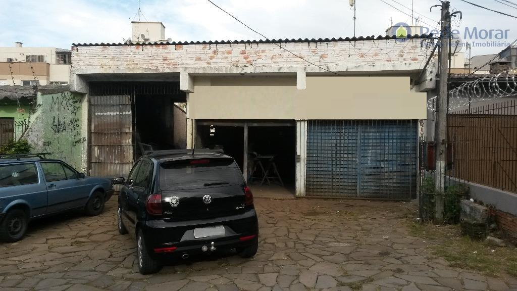 Terreno com loja comercial à venda, Teresópolis, Porto Alegre.