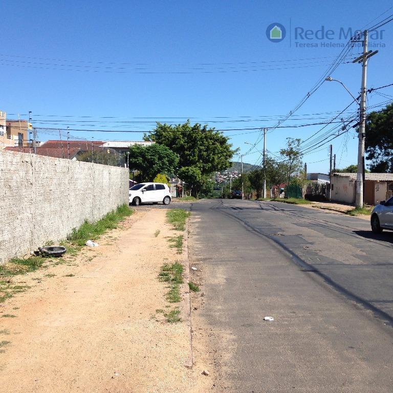 Terreno comercial e/ou residencial com 12,84m de frente à venda; Vila Nova, Porto Alegre.