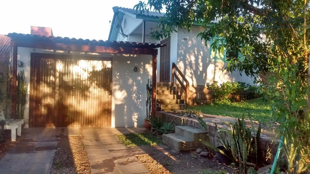 Casa  dois dormitórios semi-mobiliada ou vazia para locação, Ponta Grossa, Porto Alegre.