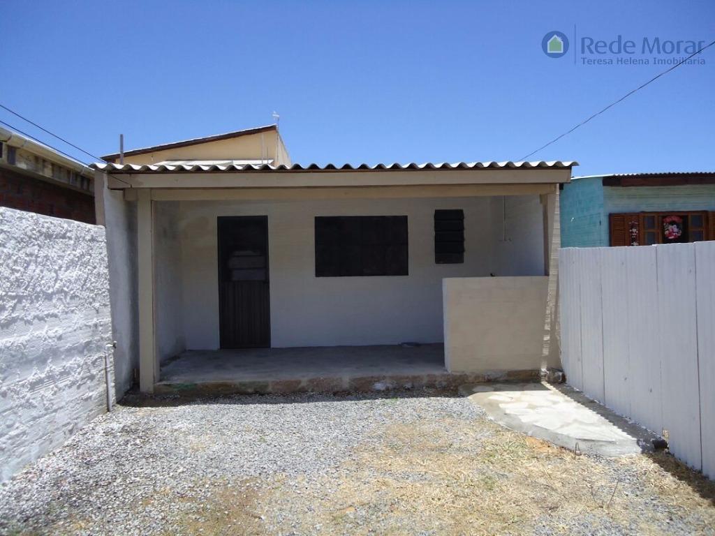Casa dois dormitórios para locação, Ponta Grossa, Porto Alegre - CA0262.