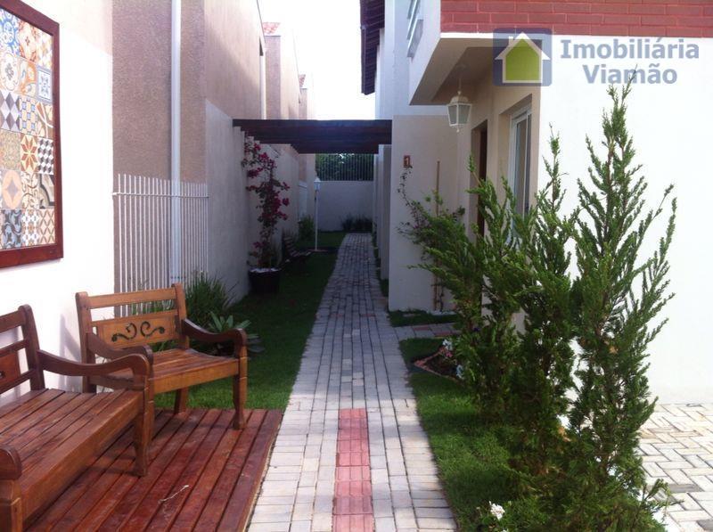 Sobrado residencial à venda, Jardim Itapema, Viamão.
