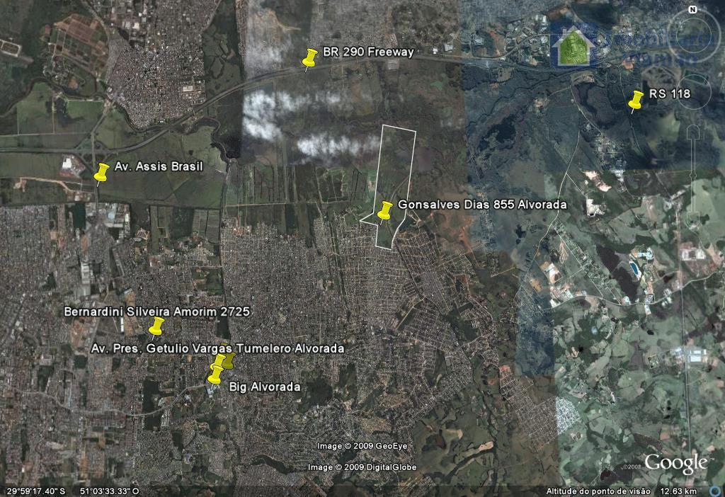 vende-se excelente área c/141 hectares em alvorada rs. especial para loteamentos condomínios, industrias ou investimentos imobiliário....