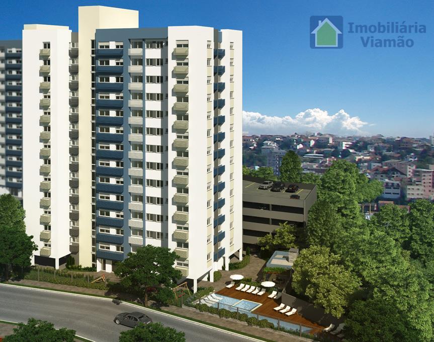 Apartamento 2 dormitórios com suíte, 9º andar em Alvorada