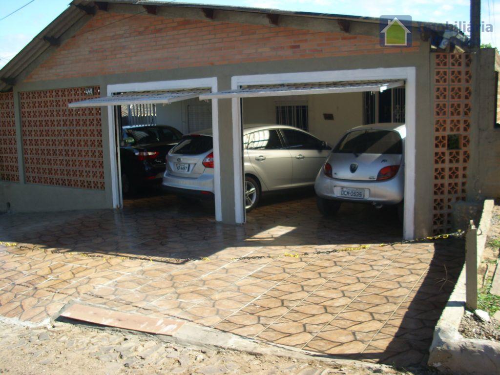 Excelente casa com 3 dormitórios, bem localizada, próxima a Av. Tiradentes em Alvorada